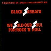 We Sold Our Soul for Rock 'n' Roll by Black Sabbath (Warner Bros.) FREE SHIPPING