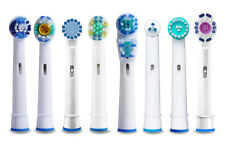 Generic Braun Oral B Floss Action Dual Clean Sensitive Electric Toothbrush Heads