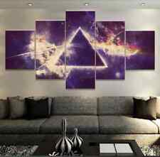 Framed Home Decor Canvas Print Painting Wall Art Pink Floyd Rock Music