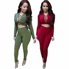 Sexy Rompers Womens Jumpsuit 2016 Long Sleeve Criss Cross Overalls For Women
