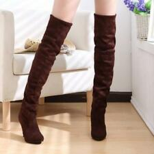 Big Size 34-43 High Heels Women Boots Over the Knee High Boots Party Sexy Lady