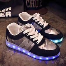 Led shoes for adults 2017 fashion led light shoes canvas shoes casual shoes led