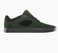 EMERICA THE HSU LOW VULC GREEN BLACK MENS SKATE SHOE CASUAL FREE POST AUSTRALIA