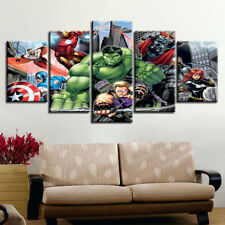 Framed Home Decor Canvas Print Painting Wall Art Comics Avengers Poster