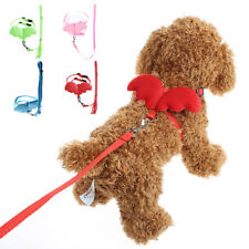 Pet Dog Adjustable Angle Wing Harness Leash Lead Strap Nylon Traction Rope