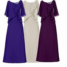 Chiffon Mother of the Bride Dress Long Evening Formal Occasion outfits Custom