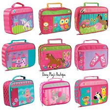 Stephen Joseph Assorted School Lunch Boxes for Kids - Lunch Bag for Girls