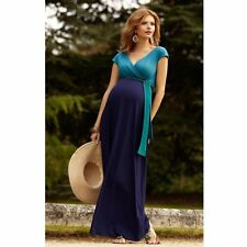 High Quality Summer S-3XL Tencel Ankle-Length Maternity Dress Pregnancy Clothes