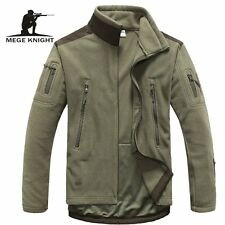 mens clothing autumn winter fleece army jacket softshell clothing for men