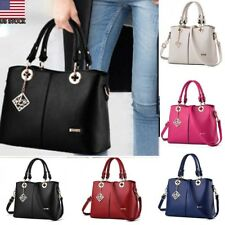 Fashion Women PU Handbag Leather Lady Shoulder Bag Tote Purse Messenger Satchel