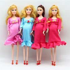 Pregnant Doll Suits Mom Doll Tummy Best Friend Play with Girls Educational ToyWB