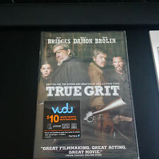 True Grit DVD Jeff Bridges, Matt Damon, Hailee Steinfeld, Josh Brolin