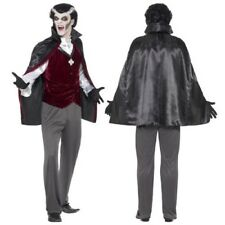 Smiffy's Horror Mens Vampire Halloween Fancy Dress Costume Count Dracula Outfit