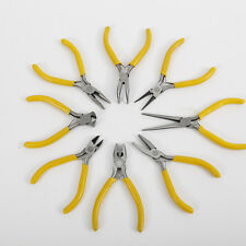8 Styles Long Flat Needle Sharp Nose Precision Pliers Jewelry Repair Hand Tools