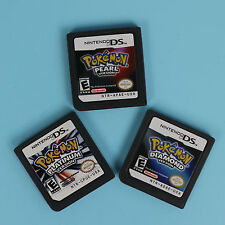 Platinum Pearl Diamond Version Game Card For Nintendo DS NDS 3DS US