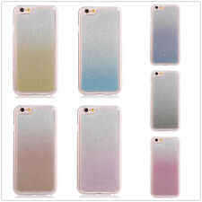 Luxury Bling Glitter Gradient Soft TPU Gel Crystal Bumper Case Cover For Samsung