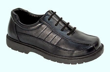 Josmo Kids Boy's Lace-Up Oxford Casual/Dress/School Shoes Black, Sizes 12, 1