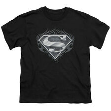Superman BIKER METAL Licensed  Youth T-Shirt S-XL