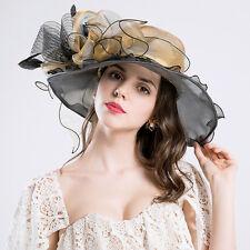 New Ladies Sinamay Hat wedding races ascot Occasion Formal Mother Of The Bride