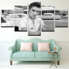Framed Home Decor Canvas Print Painting Wall Art Elvis Presley Posing Poster 5P