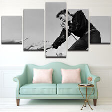 Framed Home Decor Canvas Print Painting Wall Art Elvis Presley Live Fans Poster