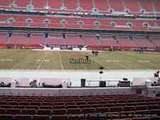Cleveland Browns tickets vs NY JETS 10/8 FRONT ROW SEATS SEC 133 ROW 1