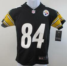 New Antonio Brown #84 Steelers YOUTH Sizes S-M-L-XL Black Nike Jersey $70 MSRP