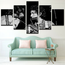 Framed Home Decor Canvas Print Painting Wall Art Bob Dylan Patti Smith Poster 5P