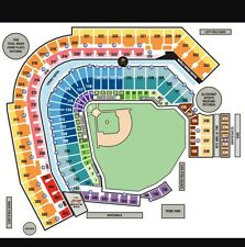 2 TICKETS PITTSBURGH PIRATES VS ST. LOUIS CARDINALS  FRI 7/14 5TH ROW OF SEC