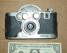 Vintage Camera Mercury II,made in USA,Old Photography Tool,Button works winder
