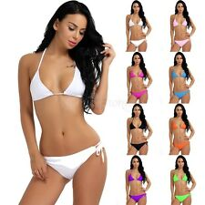 Women Bikini Set Bandage Push-Up Padded Bra Brazilian Swimwear Swimsuit Bathing