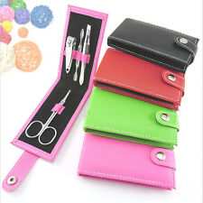 HOT 4 in 1 Pocket Professional Manicure Pedicure Set Kit Nail Care Clipper Tool