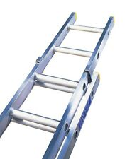 Triple & Double extension ladders, trade ladders British made aluminium Ladders