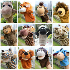 1x Cute Lovely Plush Animal Hand Puppets Zoo Learn Toy Glove for Children Kids