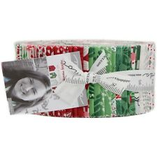 """Moda Merry Merry Jelly Roll Fabric Kate Spain Christmas 40 2.5x44"""" Quilt Strips"""