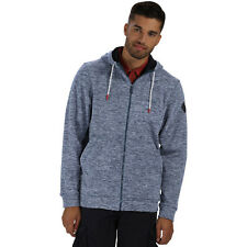 Regatta Mens Karlin Full Zip Thick Warm Marl Fleece Jacket