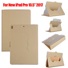 "360° Rotating For iPad Pro 10.5"" Slim Leather Stand Smart Case Cover Wake/Sleep"