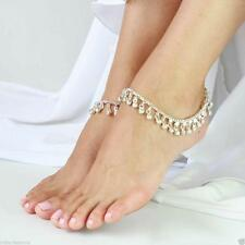 Jingle Bell Charm Anklet Foot Chain Anklet Ankle Bracelet Belly Dance Jewellery