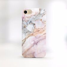 Marble Design Pink Marble Hard Case Cover Back Case for iPhone 6s 5 6 7 Plus 6+