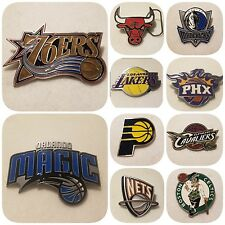 NBA LICENSED BELT BUCKLES - OFFICIAL NBA PRODUCT - CHOOSE YOURS!