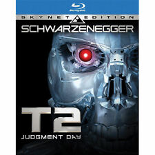 Terminator 2: Judgment Day (Blu-ray Disc, 2009, Skynet Edition Widescreen) New