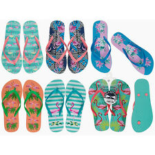 WOMENS BEACH SUMMER HOLIDAY FLIP FLOP TOE POST SLIPPERS HOME SANDALS SIZE LADIES