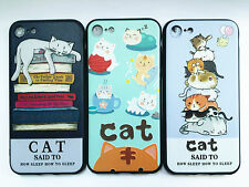 For Various Phone 3D Relief Cat TPU Soft Camera Lens Protector Case Cover Skin