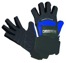 O'Brien PRO SKIN 3/4 finger Waterski Gloves, various sizes, black blue. 42123
