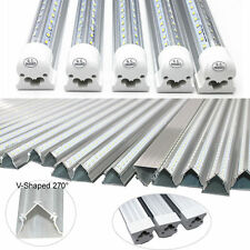 25-Pack 4ft/8Ft, 65W, Cold 6000K, Clear, V-LED Integrated LED -No Fixture Needed