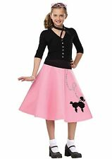 50s 50's Poodle Skirt Grease Child Costume Accessory