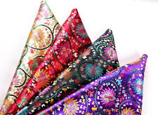 "BY 4 YARDS WHOLESALE! ASIAN CLASSIC 36"" DAMASK BROCADE FABRIC TIBET FIRE LOTUS -"