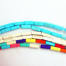 Wholesale Turquoise Gemstone 13x14mm rectangle  Loose Beads15.5 Inches Strand