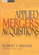 APPLIED MERGERS AND ACQUISITIONS - BRUNER, ROBERT F. - NEW HARDCOVER BOOK