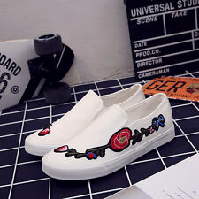 Spring New Korean Canvas Shoes Students Leisure Shoes Men Embroidery Shoes H1